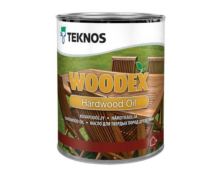 Teknos (Текнос) WOODEX HARDWOOD OIL масло